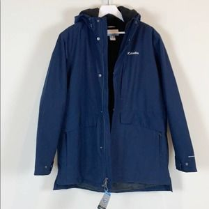 NWT Columbia Omni Tech Firwood Long Lined Jacket